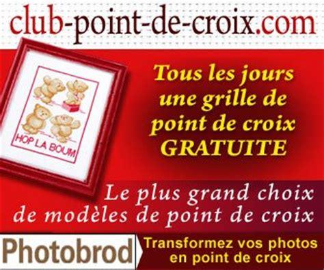 D M C Broderie Grilles Gratuites by Club Point De Croix Une Grille Gratuite Par Jours