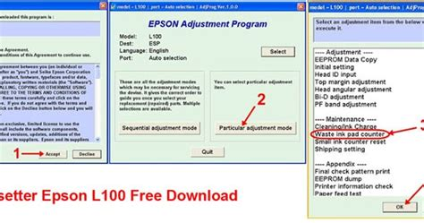 download resetter epson l100 for windows 7 printer resetter free download free download epson l100