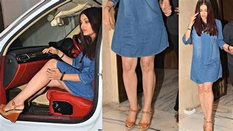 aishwarya rai legs aishwarya rai hot milky legs show at manish malhotra party