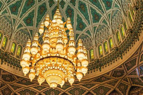 Mosque Chandelier 9 Facts About The Grand Mosque Of Oman Park Inn By Radisson