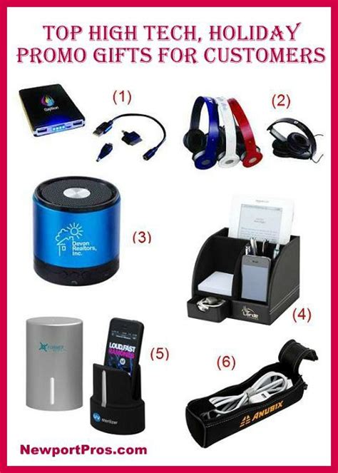 promodona top high tech holiday promotional gifts for clients