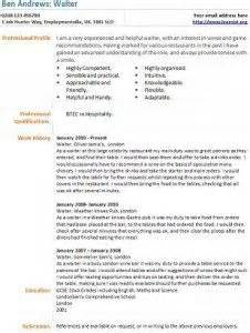 cv template uk waiter best recommendation letter writing services dubai critical thinking in