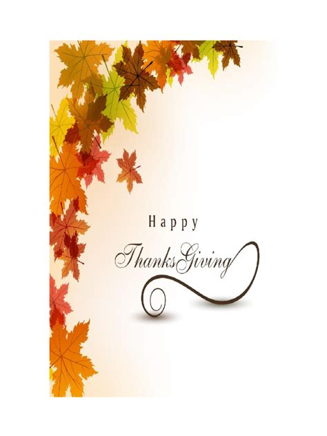 thanksgiving note card template thanksgiving card template 5 free templates in pdf word