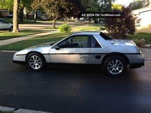 Pontiac Fiero V8 1984 Pontiac Fiero V8