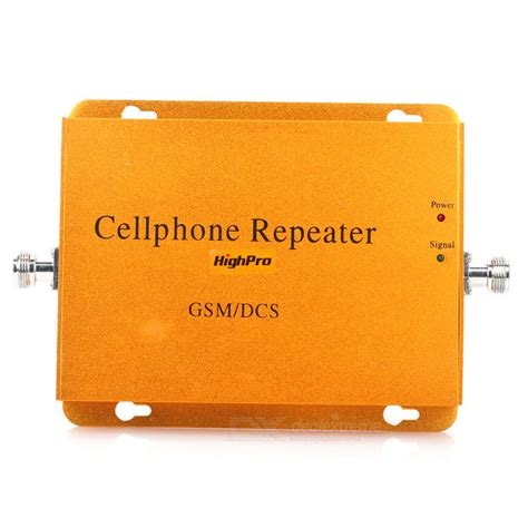 Gsm Dcs Dualband Repeater 900 1800mhz Hr980 highpro gsm dcs 900 1800mhz dual band mobile phone signal repeater booster lifier free