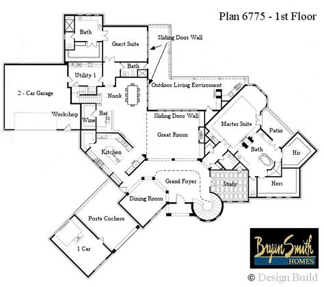 luxury home floor plans with photos rustic mountain plan 6037