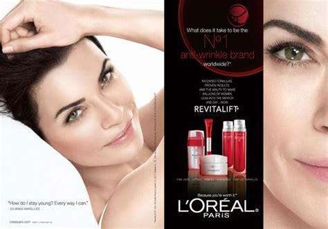 celebrity endorsed skin care products julianna margulies actress celebrity endorsements