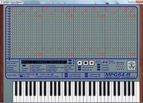 drum pattern tutorial drum pattern creator gradywerks mpg64 r