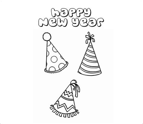 new years hat template hats hat template free premium templates