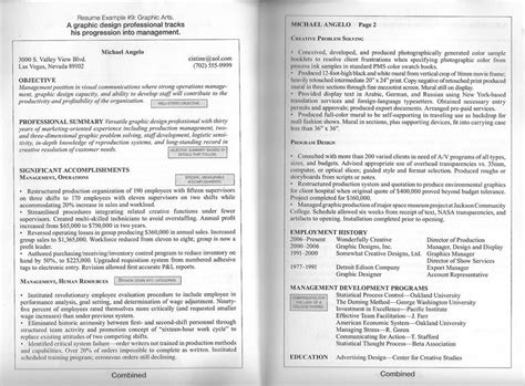 2 page resume format exle exles of resumes