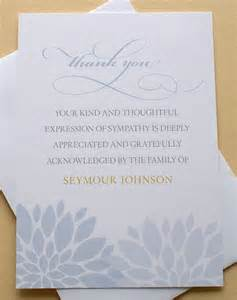 best 25 funeral thank you notes ideas on