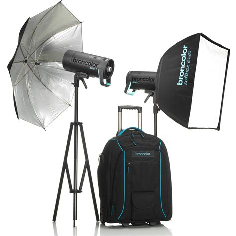 battery powered photography lighting broncolor siros l 800ws battery powered 2 light b 31 751