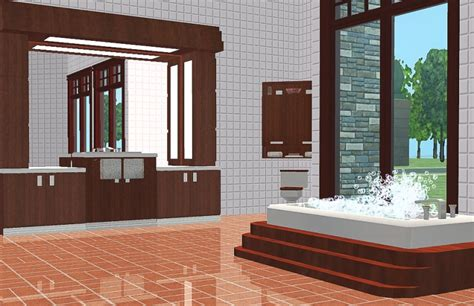sims 2 bathroom mod the sims ms traditional bath set