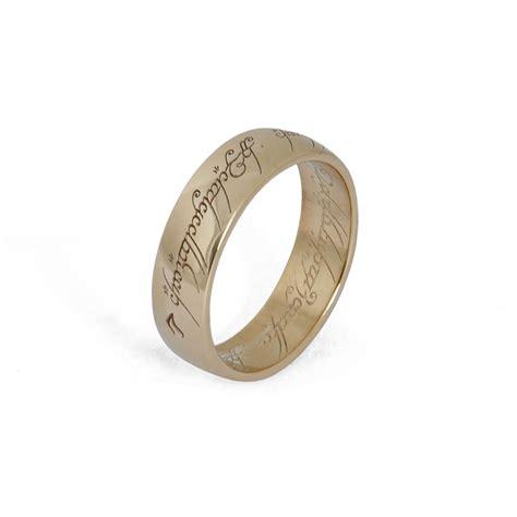 Eheringe Herr Der Ringe by Der Herr Der Ringe Ring Gold 8 Karat Offizieller