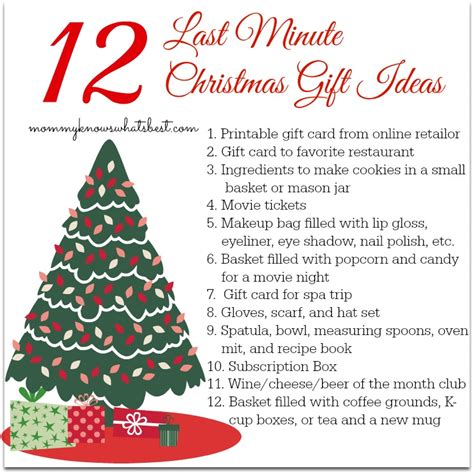 12 last minute christmas gift ideas mommy knows what s best