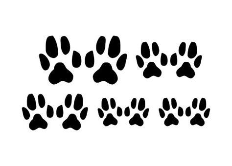 Autoaufkleber Hundepfoten by Autoaufkleber Tiere Hundepfoten Motiv 02 5er Set