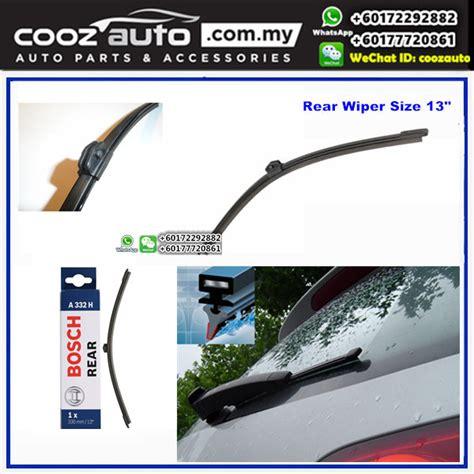 audi a4 wiper blades audi a4 avant mk3 8k5 b8 2008 2015 bosch rear windscreen