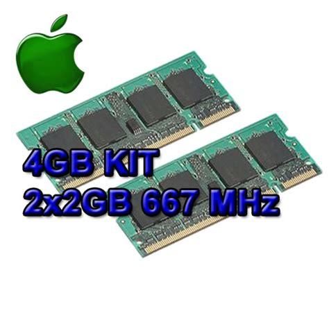 4gb ddr2 ram stick 4gb kit 667 ddr2 ram apple mac book macbook pro memory