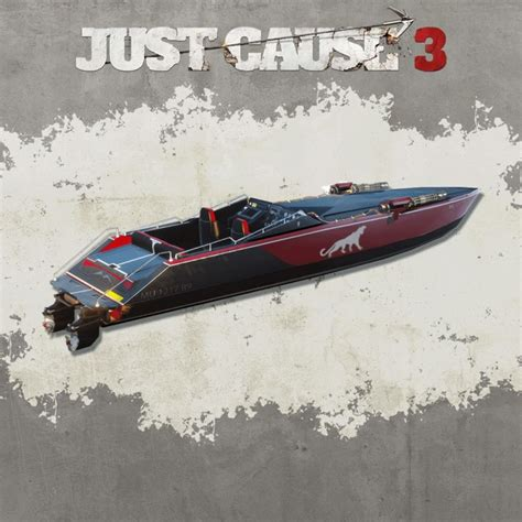 boats just cause 3 just cause 3 mini gun racing boat for playstation 4 2016