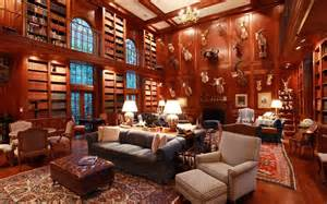 Luxury homes with libraries for sale telegraph