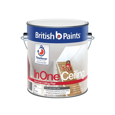 One Coat Ceiling Paint by Paints Inone 2l White One Coat Ceiling Paint