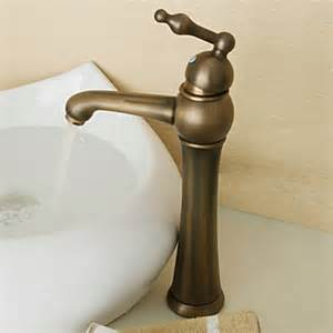 antique brass finish retro style ceramic valve single
