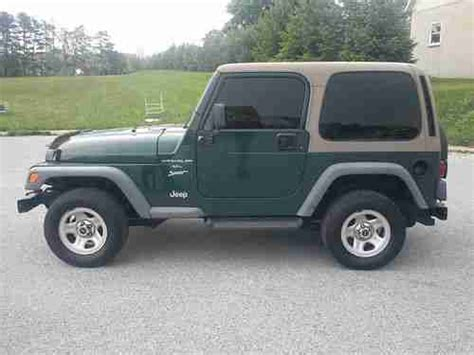 99 Jeep Sport Buy Used 99 Jeep Wrangler Sport Low Runs In