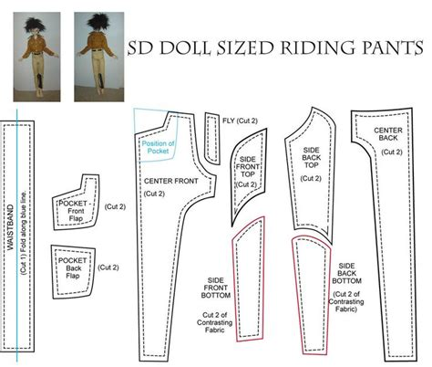pattern bjd clothes 132 best images about patterns for doll clothing on