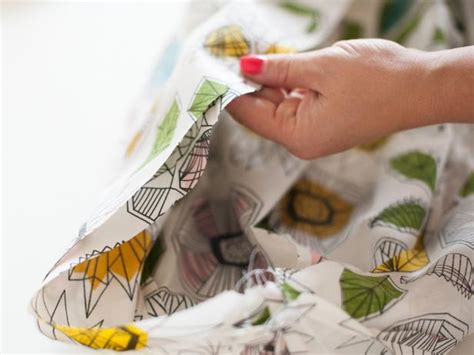 how to make a fabric pouf ottoman hgtv how to make a fabric pouf ottoman hgtv