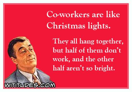 christmas lights half not working going away cards for co workers just b cause