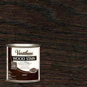 home depot wood stain varathane 1 2 pt kona wood stain 266195 the home depot