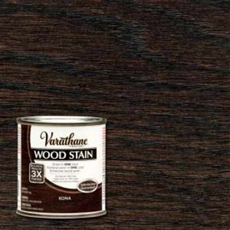 varathane 1 2 pt kona wood stain 266195 the home depot