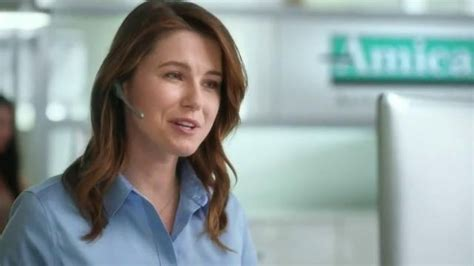 amica insurance commercial actress redhead all tv commercial amica mutual insurance company