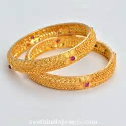 Traditional gold bangles new designs added bangle stack 1