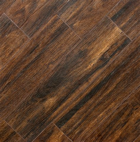 Ceramic Wood Tile Flooring Botanica Teak 6x24 Wood Plank Porcelain Tile Matte Polished Porcelain