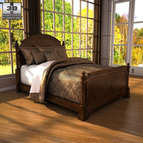 ashley leighton bedroom set ashley leighton poster bedroom set 3d model humster3d