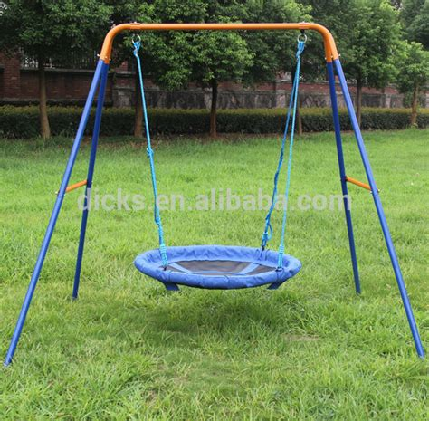 dks metal ourdoor nest swing sets for rope swing