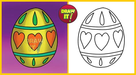 Yo Yo Trace how to draw a easter egg trace