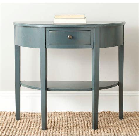 blue grey sofa table safavieh autumn blue and grey storage console table