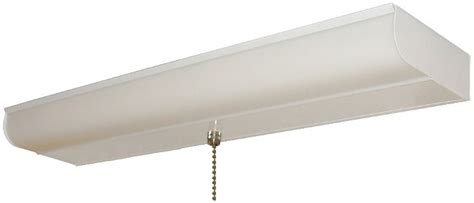 fluorescent light with pull chain 18 inch fluorescent light pull chain cabinet closet nib ebay