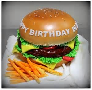 burger kuchen burger cake dubai