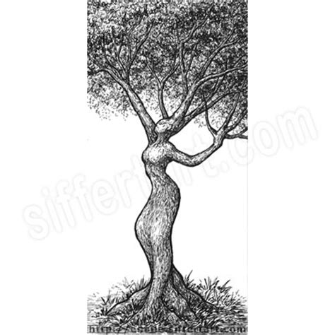 tree women by aramyt on tree drawing