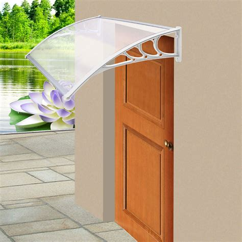 Front Door Covers Door Canopy Awning Window Cover Protector Shelter Front Back Porch Outdoor Ebay