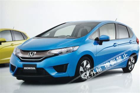 Honda Fit Sweepstakes - 2014 honda fit jazz leaked images photo gallery autoblog
