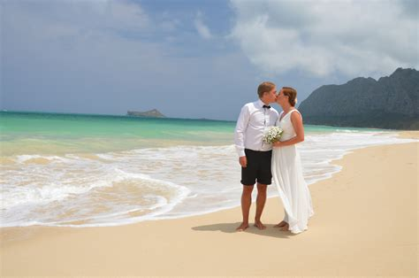 Waimanalo Beach Weddings by Bridal Dream Hawaii