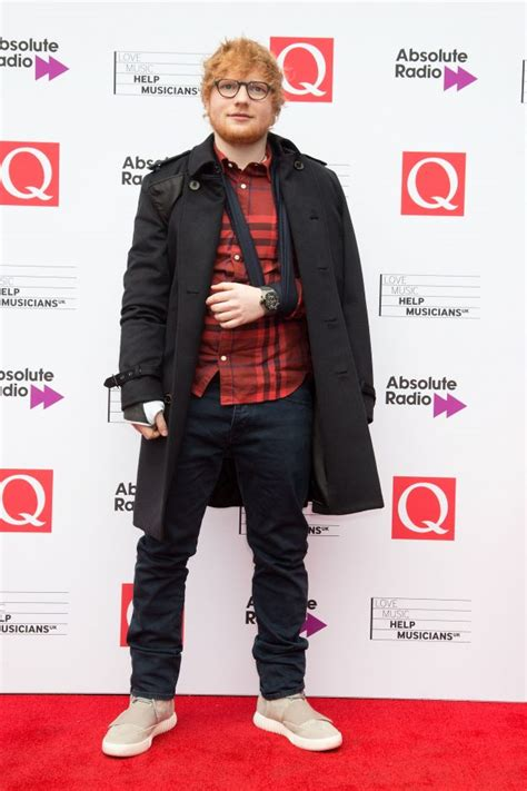 ed sheeran q awards ed sheeran confirms he ll return to the stage in one month