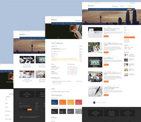 template joomla default review features corporate and business joomla template
