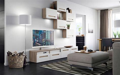 salones con muebles de ikea sal 243 n moderno ikea decorado en blanco im 225 genes y fotos