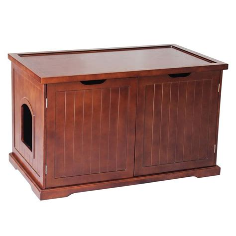 Litter Box Bathroom by Walnut Cat Bathroom Bench Litter Box Teachers