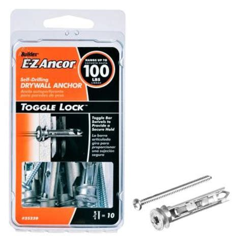 e z ancor toggle lock 100 lb pan philips heavy duty